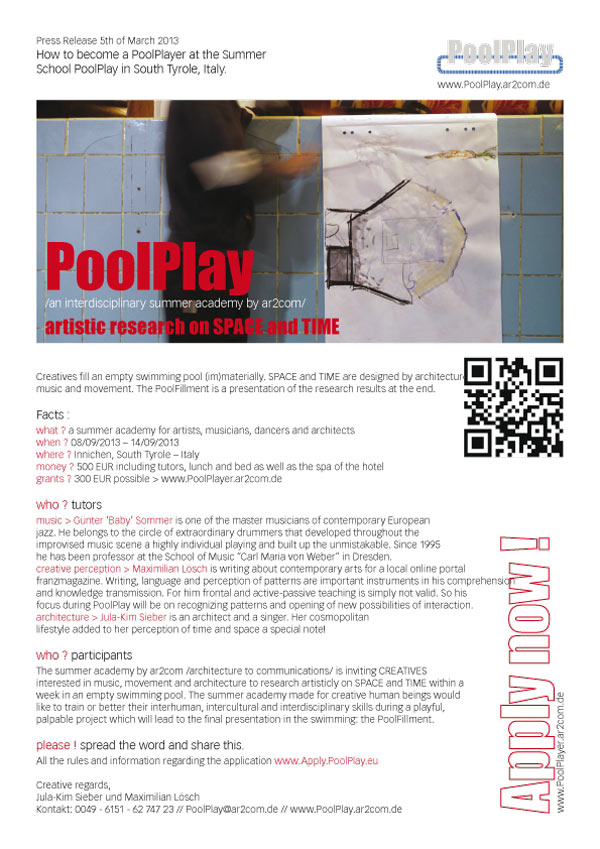 PoolPlayPoster
